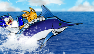Who got the fish by Lord-Kiyo