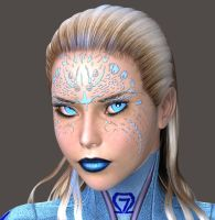 Ice Princess-Close by Roguewing