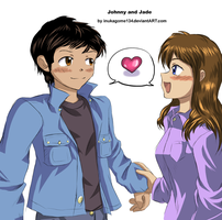 Jade and Johnny request by inukagome134
