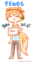 Pewds Gets Wi-fi by Kurorinko