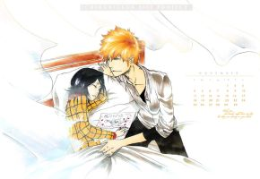 Ichiruki Calendar A - November by Laikkuseia