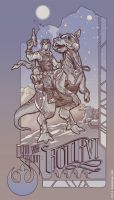 Tauntaun at Echo Station by sketchboy01