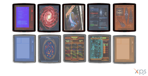 Mass Effect 3 Datapads for XPS by Just-Jasper