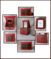 Little Red Jewellery Box by Verbeley
