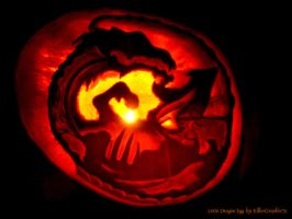 Dragon Egg Pumpkin 2006 by KillerGraphix79