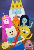 Adventure Time by DarkPainArtt