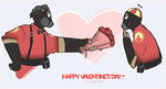 TF2 - V-day by Qurugu