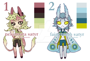 02. Little Satyr Adopts by killaminjaro