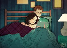 Stiles and Allison: In Bed by MisterLIAR