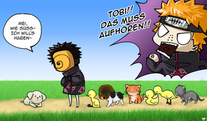 NARUTO: Tobi likes animals by Aryn2108