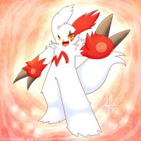 Zangoose by Kiminukii