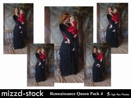 Rennaissance Queen Pack 4 by mizzd-stock