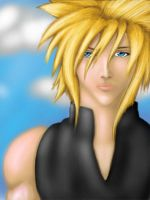 Cloud Strife by Gothic-Archangel