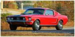 A 1968 Mustang GT Fastback by TheMan268