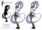 Original: Ms. Treble Clef by khakipants12