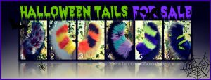 Halloween Tails For Sale by DexterousZombie