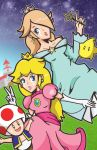 Peach Rosalina by the-lagz