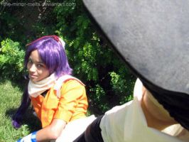 Yoruichi attacks by the-mirror-melts