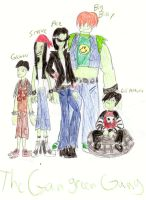 The PPG X: The Gangreen Gang by PurfectPrincessGirl
