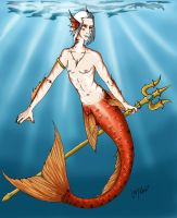 The Merman ( Leon ) by LedyRaven