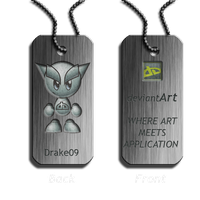 Dog Tag Idea for DeviantWear by Drake09