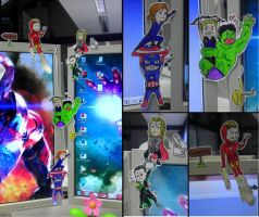 Avengers Chibis by awesome-Kathi