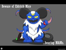 Beware of Eldritch Mice... by Imerei