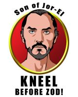 Kneel before Zod by ajb3art