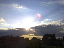 Sunset time - 19th June 2015 by studencik