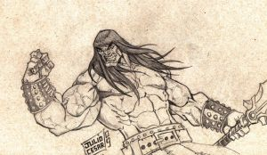 CONAN THE BARBARIAN by vandalocomics