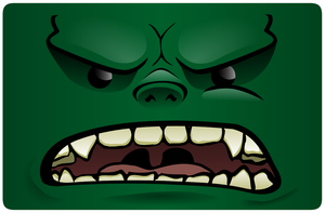 angry orc by Dont-lose-heart
