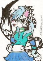 uhm...wierd mixed furry character O_o by Ponyness1