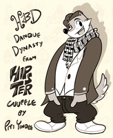 [NotMyWork]HipsterWuffle[gift art] by DanqueDynasty