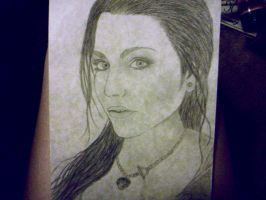 Amy Lee of Evanescence by RyleeAdair