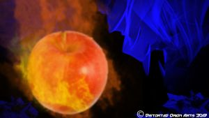 Ignited Apple by DistortedOrion