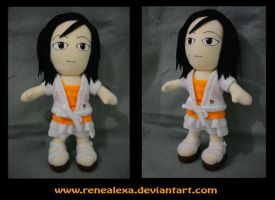 Commission_Chibi Girl Plushie by renealexa-plushie