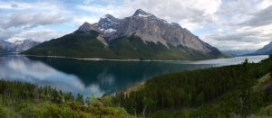 Minnewanka Panorama by HerrHaller