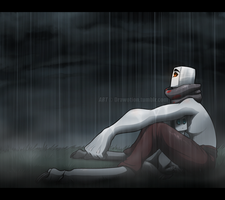 Under the rain by Drawotion