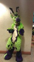 Short Circut Fursuit by SneakyLynx