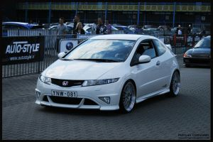 2007 Honda  Civic Type R by compaan-art