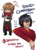 Speed Commissions OPEN NOW by Kinky-chichi