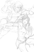 Korra pencils by cornellartworks