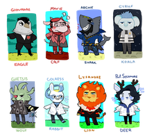 Animal Crossing: Pokevillains +Sycamore by Fingurken