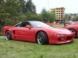 Red NSX by SeanTheCarSpotter