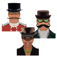 Steampunk Victorian Instant Messaging Icon by pendragon1966