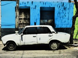 White car by WillemFred