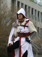 assassin's creed close up by Lashes-and-Glitter