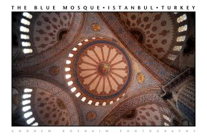 The Blue Mosque (Istanbul, Turkey) by drewhoshkiw
