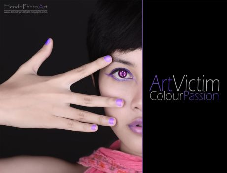 ArtVictim ColourPassion by blue3yes182