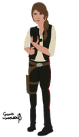 Genderbent Han: Hannah Solo by leapylion3
